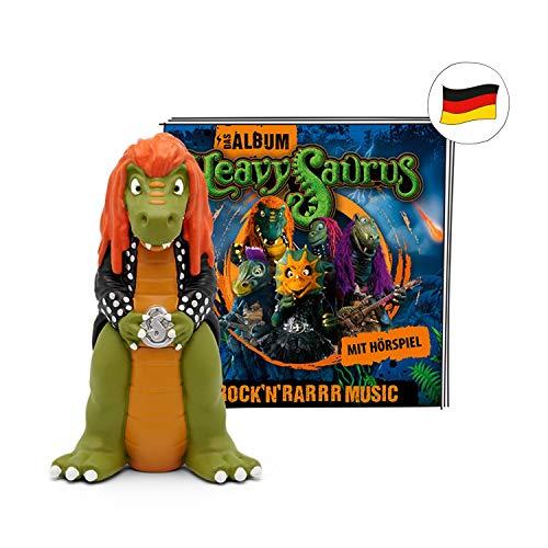 tonies Hörfiguren - Toniebox Figur Heavysaurus Rock and Rarrr Musik - 12 Metalsongs für Kinder - ca. 43 Min - ab 3 Jahren - DEUTSCH
