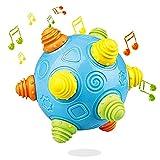 Baby Music Dancing Ball Shake Toys Bouncing Jumping Sensory Developmental Balls Early Educational Game for Kids Toddlers