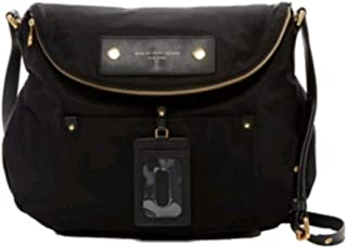 Marc Jacobs Preppy Natasha Nylon Crossbody Bag, Black, Medium