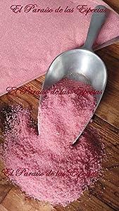 Algodón Nubes de Azúcar Fresa - frambuesa 1 Kg Azúcar con sabor y color