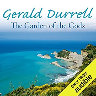 The Garden of the Gods audiobook cover art