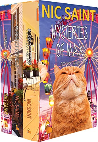 The Mysteries of Max: Books 28-30 (The Mysteries of Max Box Sets Book 10) (English Edition)