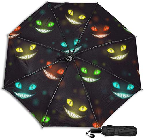 Paraguas de viaje Protección UV a prueba de viento (Acuarela Argyle Plaid patrón)
