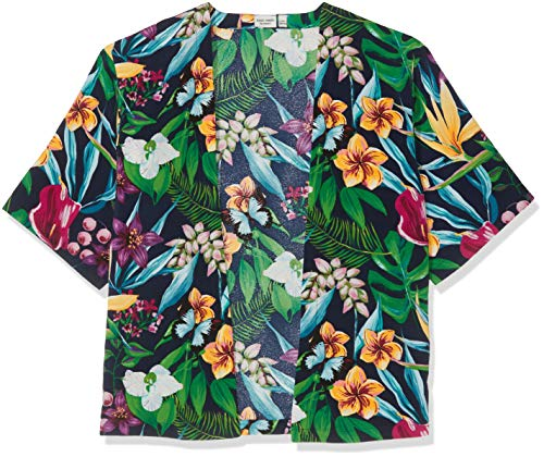 NAME IT Nkfvinaya SS Kimono H Blusa, Dark Sapphire, 146 (Talla del Fabricante: 146-152) para Niñas