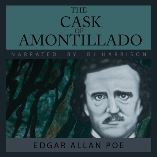 The Cask of Amontillado audiobook cover art