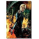 Vspgyf Draco Malfoy Poster Kunst Gemälde für Schlafzimmer