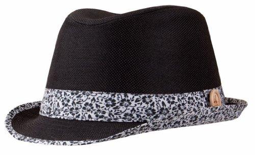 Trilby chapeau de Chillouts Orlando - Noir - Taille Unique