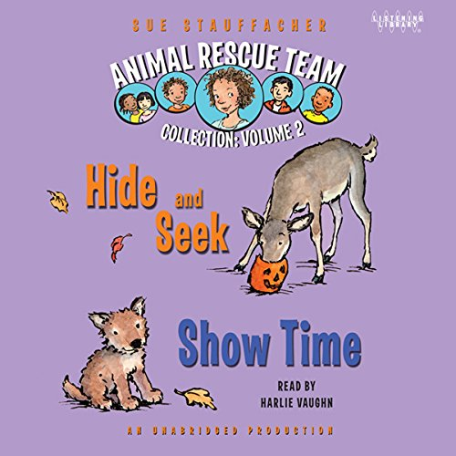 Animal Rescue Team: Show Time, Book 4 audiobook cover art