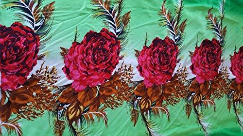 Butterfly Coton Doux Sarong avec nœud Green