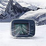 Portable Air Conditioner,Portable Air Conditioner, 3 Speed USB Fan, Mini Air Cooler