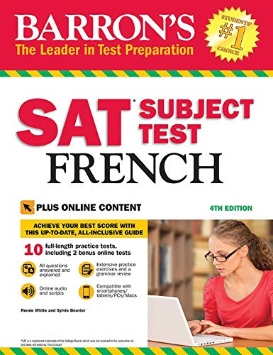 SAT Subject Test French with Online Tests (Barron's Sat Subject Test French)