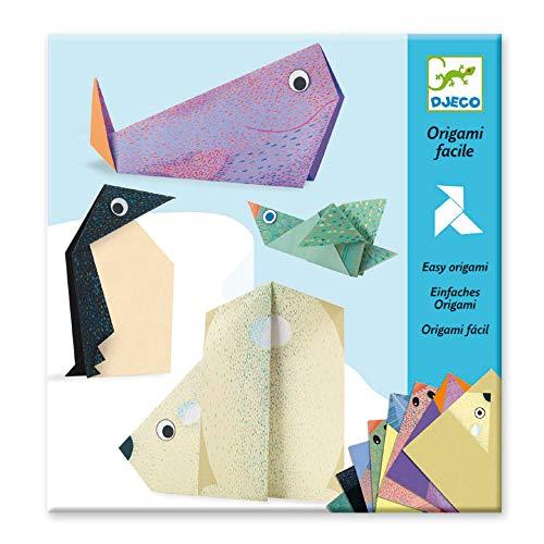 DJECO Origami Les Animaux Polaires