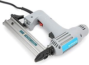 Esenlong F30 Elektrische Rechte Schiethamer Spijkermachine Nietmachine Houtbewerking Spijkergereedschap Eu Plug 220V Grijs