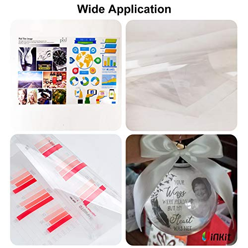 OHP Film Overhead Projector Film 11x17 - for Laser Jet Printer and Copier Transparency Film 50 Sheets Uinkit