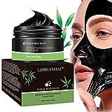 Mascarilla Exfoliante Facial,Peel Off Máscara,Puntos Negros Mascarilla,Deep Cleansing Reduce Poros Acne Piel Muerta Espinillas,Hidratar Piel 120g