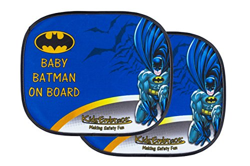 KidsEmbrace Batman Car Sun Shade, DC Comics Baby On Board Window...