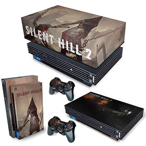 Capa Anti Poeira e Skin para PS2 Fat - Silent Hill 2