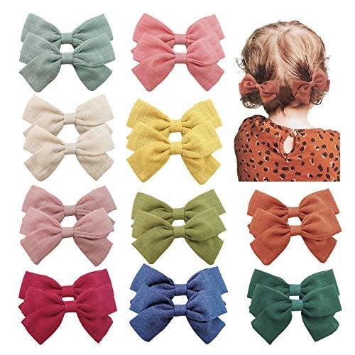 20PCS Baby Girls Hair Bows Clips Hair Barrettes Accessory...