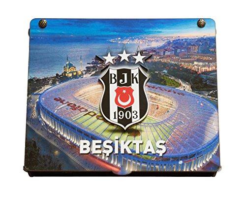 Gök-Türk handgemaakte kist 'Besiktas BJK' voor voetbalfans