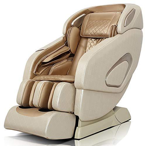 StAuoPK Massagesessel mit Smart SL-Schiene für den Heimgebrauch, Multifunktionsraumkapsel Ganzkörper-Massage Automatische Sofa für ältere Menschen,B