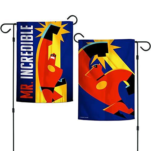 WinCraft 90290118 Bandeira de jardim dos dois lados 31,7 cm x 45,7 cm (Nemo Best Friends), multicolorido