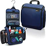 Hanging Travel Toiletry Bag for Men and Women – Large Cosmetics, Makeup and...