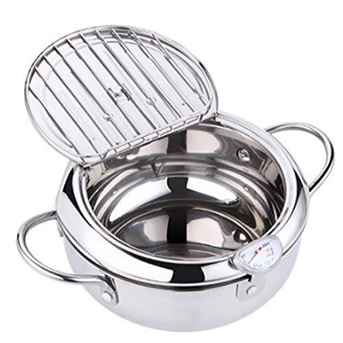 Lopbinte la Mano Mamá Cocina SartéN TermóMetro Tempura SartéN Control de Temperatura Pollo Frito Olla Herramienta de Cocina