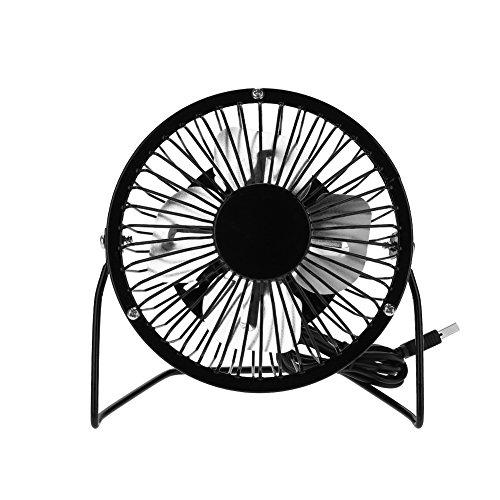 Keenso USB Fan,3W 6V Outdoor Solar Panel Portable Mini Fan USB Cooling Kit Accessory