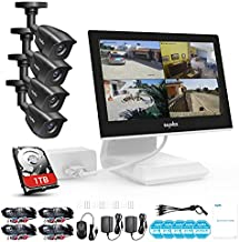 True All-in-One Home Security Camera System with Built-in 10.1