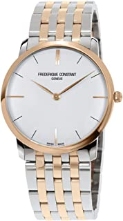 Frederique Constant White Dial Two-Tone Men's Watch FC-200V5S32B