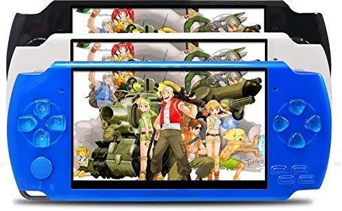 X6 4.3 pulgadas portátil PSP consola de juegos portátil reproductor de videojuegos con 10000 juegos
