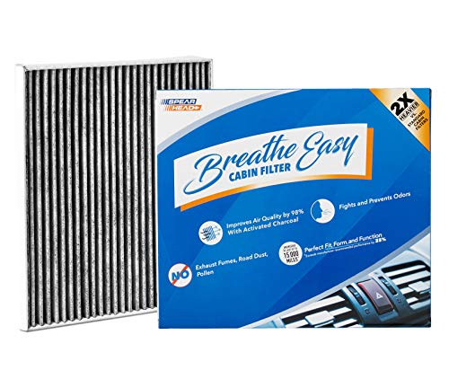 Spearhead Premium Breathe Easy Cabin Filter, Up to 25% Longer Life w/Activated Carbon (BE-150)