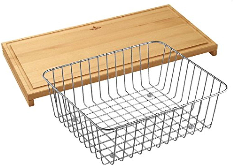 Villeroy & Boch 8K04 10 00 Zubehrset Zubehr Set Küchenspüle Spüle Spülbecken