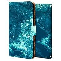iPhone 8 plus ケース 手帳型 アイフォン 8 plus カバー スマホケース おしゃれ かわいい 耐衝撃 花柄 人気 純正 全機種対応 WX210-衛星テクスチャー-海 ファッション 8966141