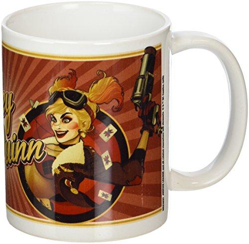 Pyramid International DC Comics Bombshell (Harley Quinn RED) Keramikbecher, Keramik, Mehrfarbig, 8.5 x 12 x 10.5 cm