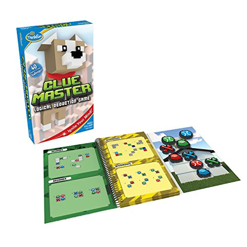 ThinkFun Clue Master Logic Game and STEM Toy - Teaches Critical Thinking Skills Through Fun Gameplay