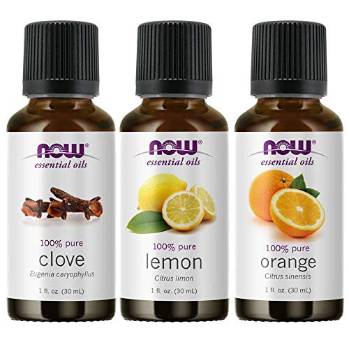 3-Pack Variety of NOW Essential Oil…