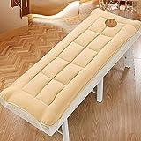 XHNXHN Topper de colchón de Belleza Grueso de 5 cm, Antideslizante con Agujeros, colchón de Masaje, colchón de futón...