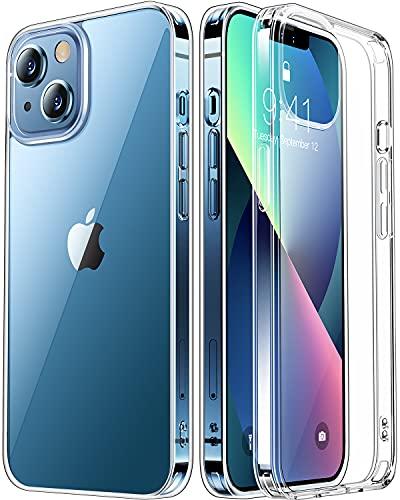 RANVOO iphone13 用 ケース クリア 耐衝撃SGS認証 黄変防止 耐候 透明 アイフォン13 カバー 米軍MIL規格 ストラップホール付き (2021)