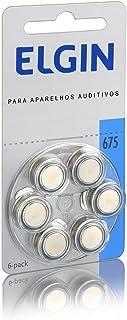 24 Pilhas Baterias Auditiva 675 Pr44 Aparelho Auditivo Elgin