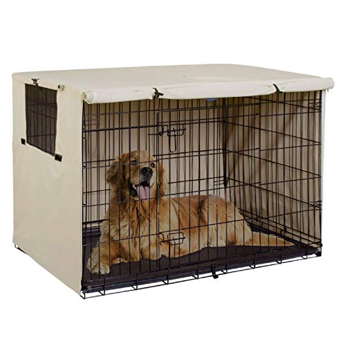 Explore Land Dog Crate Cover Durable
