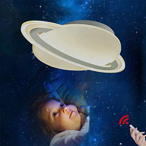 Eastinghouse Ledlamp voor baby/kinder/volwassenen, maan-plafondlamp, wit, planeet, acryl, led, voor baby's, kinderen/volwassenen, dekbed, maan, licht, afstandsbediening