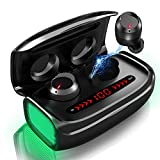 Wireless Earbuds, Bluetooth 5.0 Wireless Headphones 170H Playtime with 3000mAh Charging Case [As