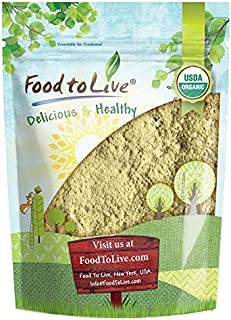 Organic Fenugreek Powder, 2 Pounds — Non-GMO, Raw, Ground Methi Seeds, Pesticide-Free, Pure, Kosher, Vegan Superfood, Bulk, Great for Cooking, Drinks and Smoothies