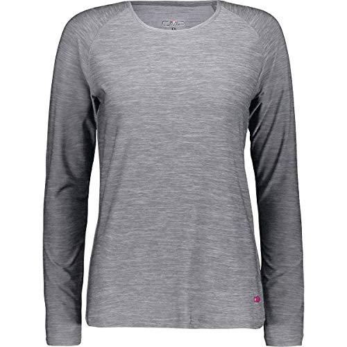 Campagnolo CMP Sweat-Shirt à Manches Longues pour Femme Melange Stretch