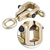 5 Ton Top & Straight 2-Way Auto Body Clamp, Self-Tightening Frame Grips, Auto Body Repair Pull Clamp for Top & Straight Repair Tool Kit