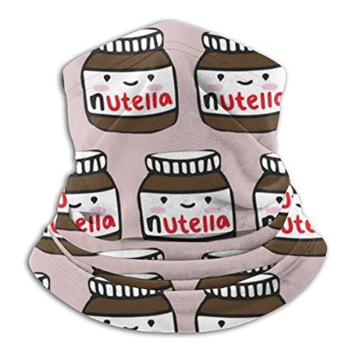 LKQTH Halstuch / Gesichtsmaske mit Nutella-Muster, für Männer und Frauen
