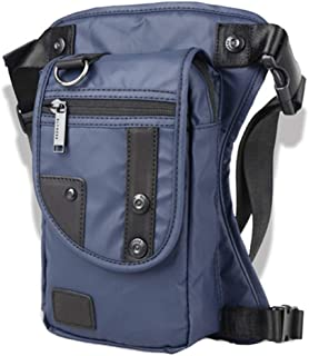 BEYST Waterproof Oxford Drop Leg Bag, Mens Messenger Shoulder Bags Riding Hip Bum Waist Pack - for Motorcycle Steampunk Costume Outdoor Tactical Travel Fishing Hiking Cycling Outdoors