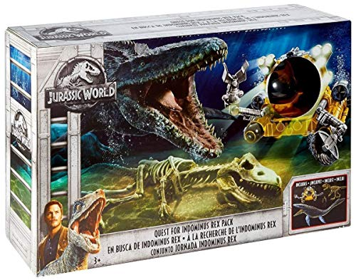 Jurassic World Quest for Indominus Rex Pack