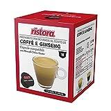 160 Cialde Capsule Compatibili Dolce Gusto Ristora Caffe' e Ginseng...